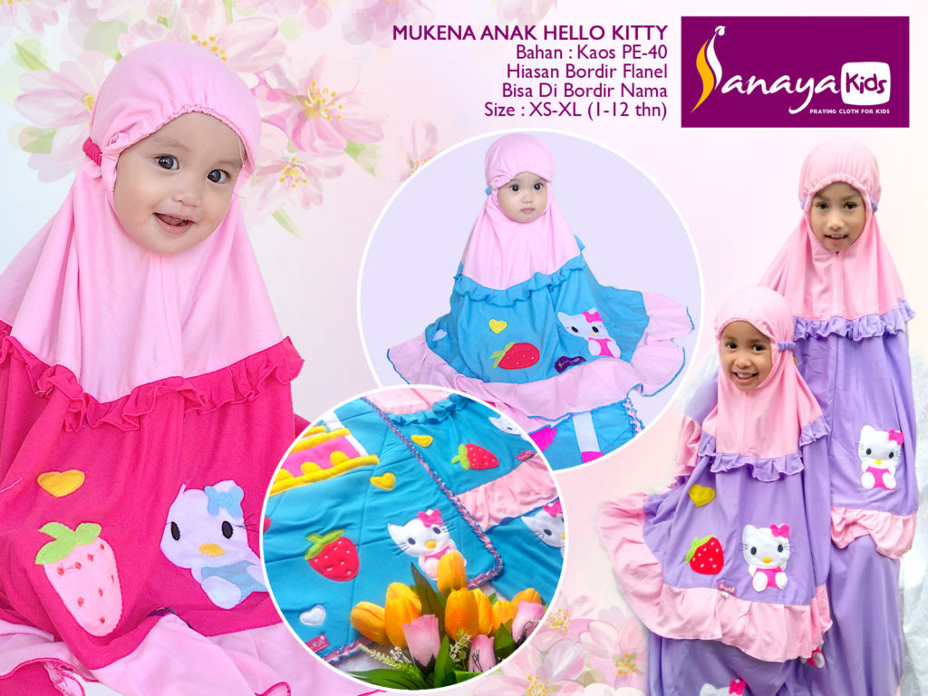 mukena-hello-kitty